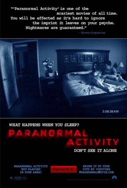 Paranormal Activity (2007) - Movie Poster