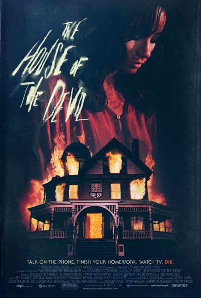 The House of the Devil (2009)  - Movie Poster