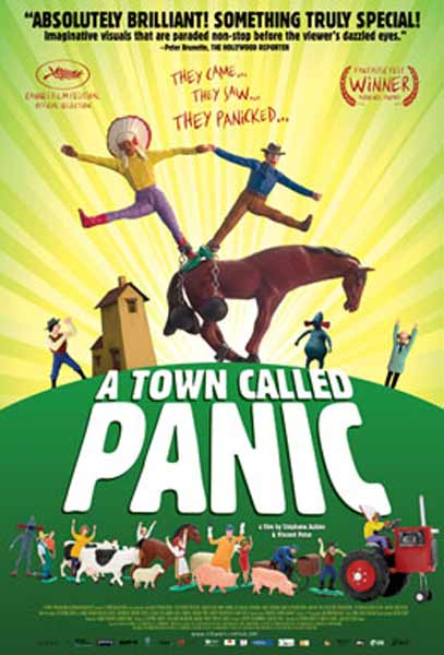 A Town Called Panic (2009) - Movie Poster