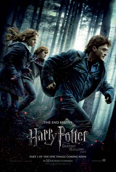 Harry Potter and the Deathly Hallows: Part I (2010) - Movie Poster