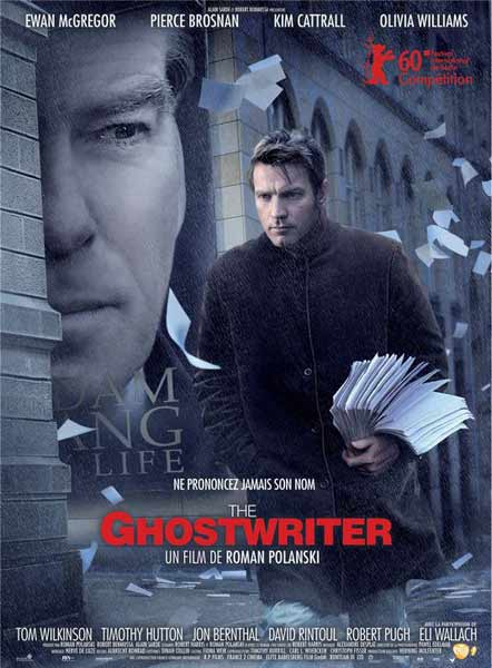 Ghost Writer, The (2010) - Movie Poster