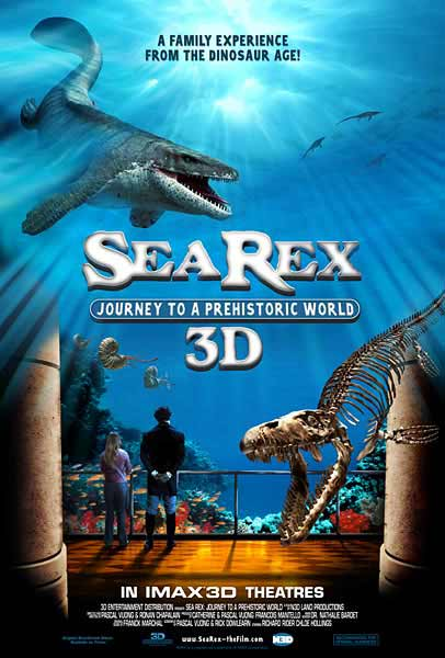 Sea Rex 3D: Journey to a Prehistoric World (2010) - Movie Poster