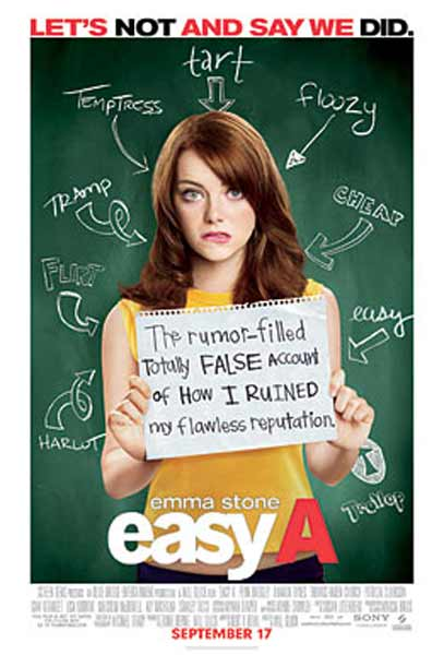 Easy A (2010) - Movie Poster