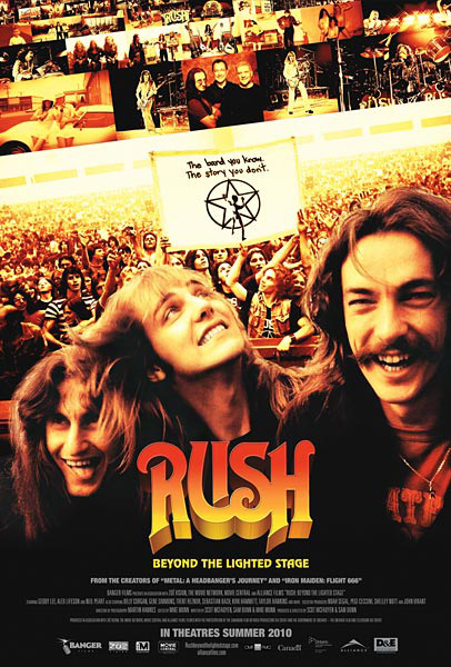Rush: Beyond the Lighted Stage (2010) - Movie Poster