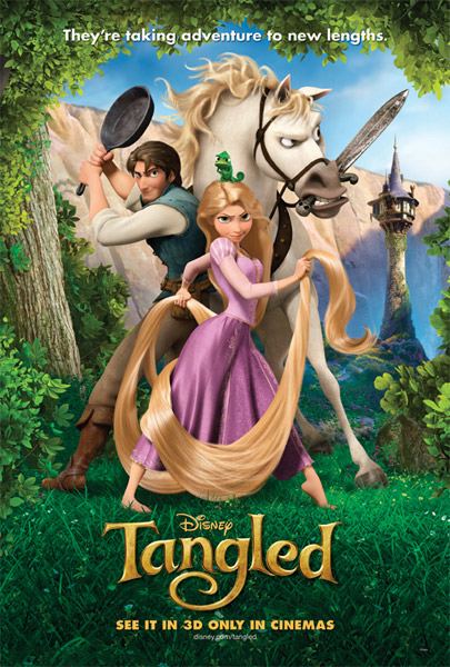 Tangled (2010) - Movie Poster