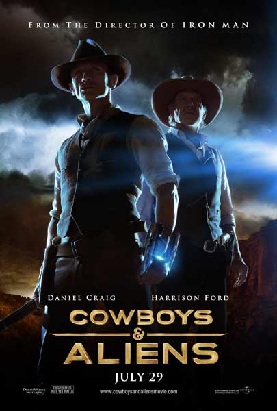 Cowboys & Aliens (2011) - Movie Poster