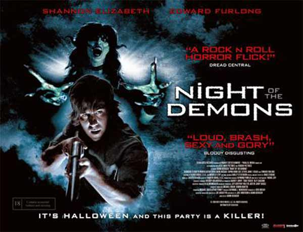 Night of the Demons (2009) - Movie Poster
