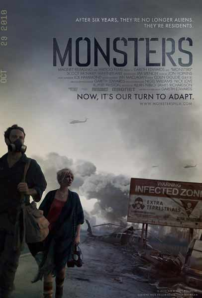 Monsters (2010) - Movie Poster