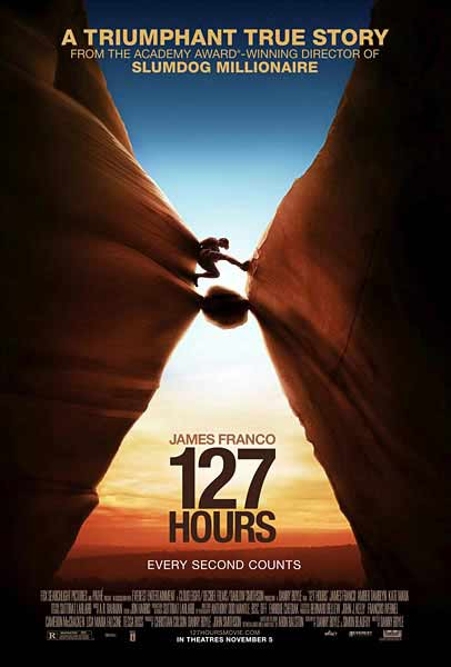 127 Hours (2010) - Movie Poster