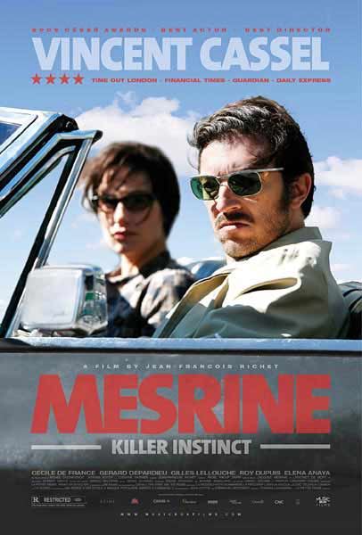 Mesrine: Killer Instinct (2008) - Movie Poster