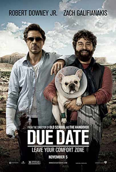 Due Date (2010) - Movie Poster