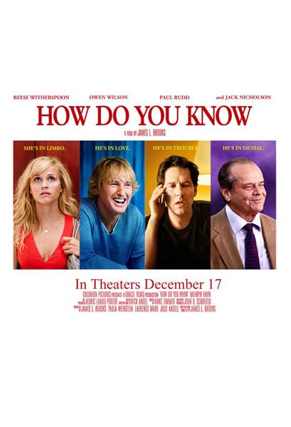 How Do You Know (2010) - Movie Poster
