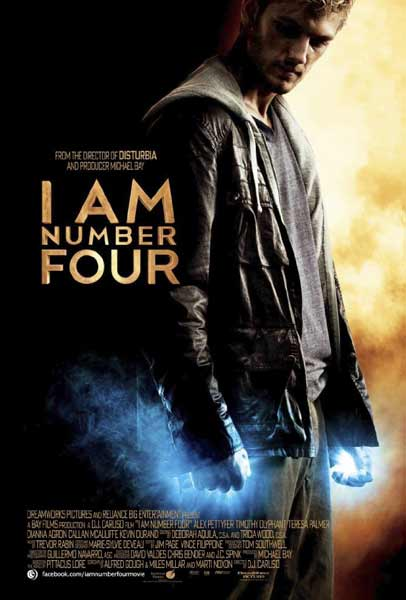 I Am Number Four (2011) - Movie Poster
