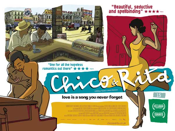Chico & Rita (2010) - Movie Poster