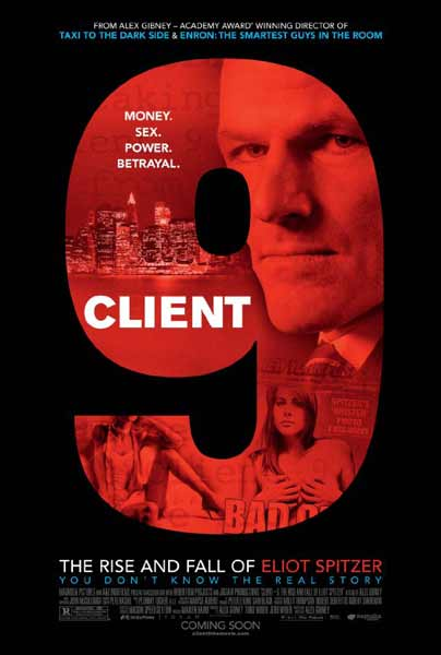 Client 9: The Rise and Fall of Eliot Spitzer (2010) - Movie Poster