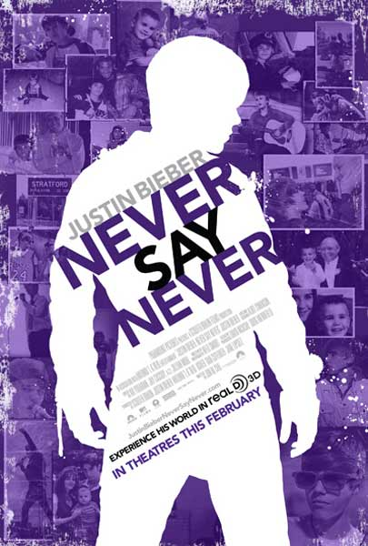 Justin Bieber: Never Say Never (2011) - Movie Poster