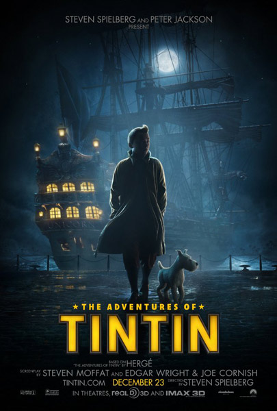 Adventures of Tintin: The Secret of the Unicorn, The (2011) - Movie Poster