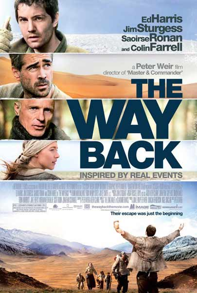 The Way Back (2010) - Movie Poster
