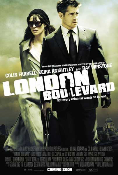 London Boulevard (2010) - Movie Poster