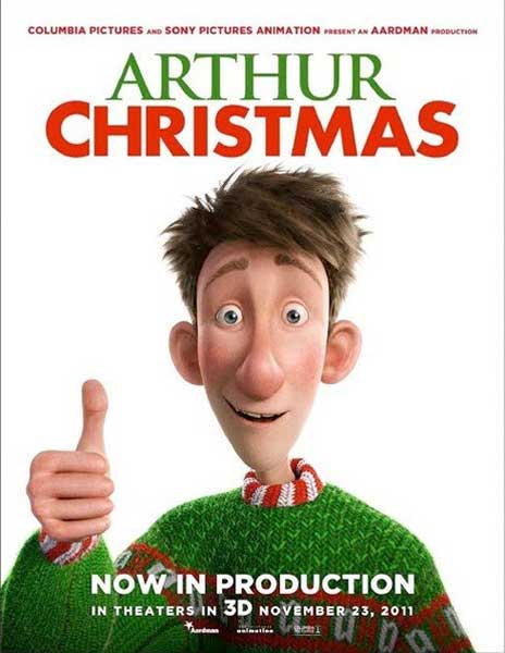 Arthur Christmas (2011) - Movie Poster