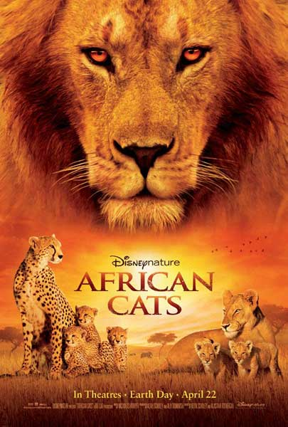 African Cats (2011) - Movie Poster