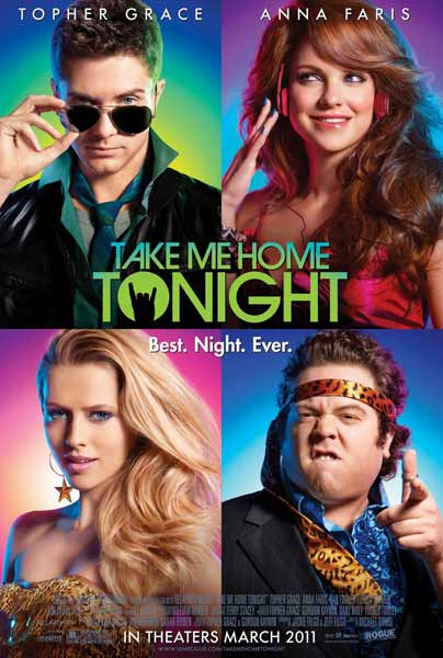Take Me Home Tonight (2011) - Movie Poster