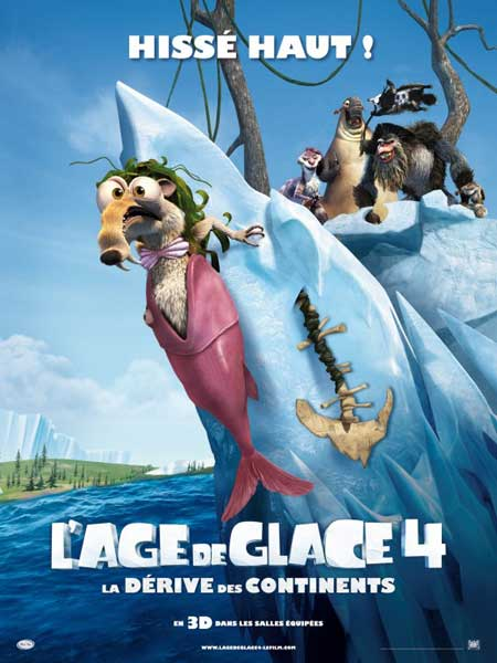 Ice Age: Continental Drift (2012) - Movie Poster