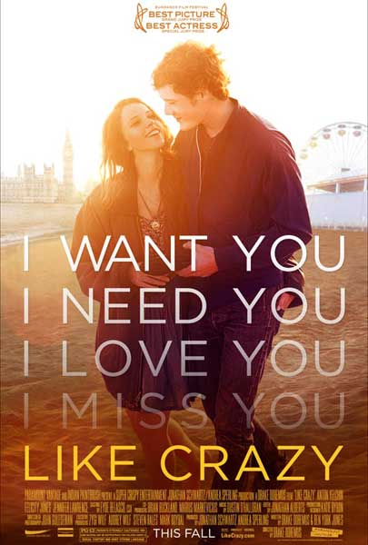Like Crazy (2011) - Movie Poster