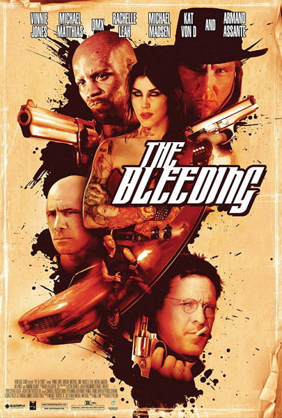 The Bleeding (2009) - Movie Poster