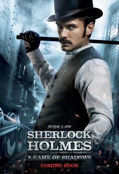 Sherlock Holmes: A Game of Shadows (2011) - Movie Poster