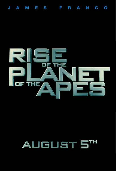 Rise of the Planet of the Apes (2011) - Movie Poster