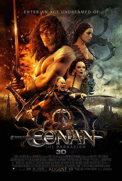 Conan the Barbarian (2011) - Movie Poster