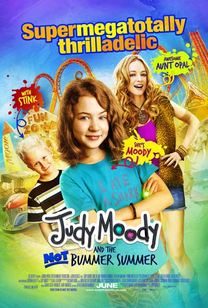 Judy Moody and the Not Bummer Summer (2011) - Movie Poster