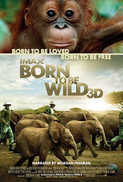 Born to Be Wild (2011) - Movie Poster