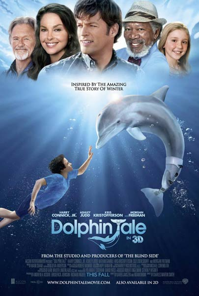 Dolphin Tale (2011) - Movie Poster