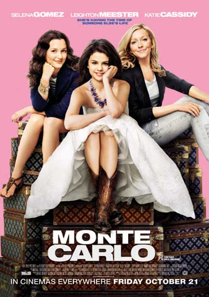 Monte Carlo (2011) - Movie Poster