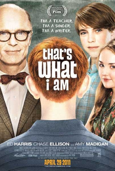 That\'s What I Am (2011) - Movie Poster