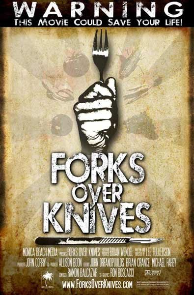 Forks Over Knives (2010) - Movie Poster
