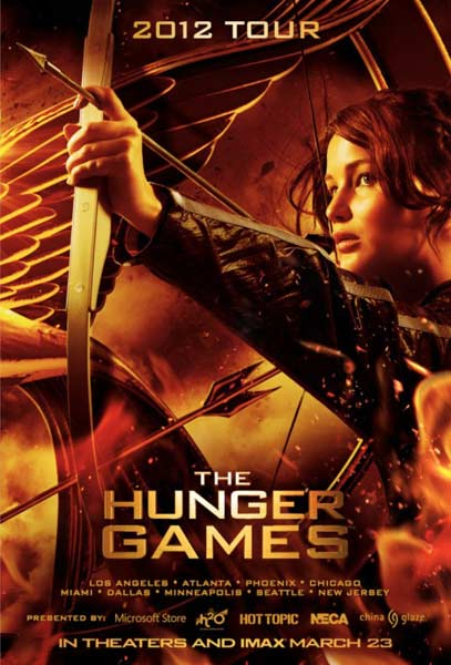 Hunger Games, The (2012) - Movie Poster