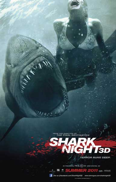 Shark Night 3D (2011) - Movie Poster