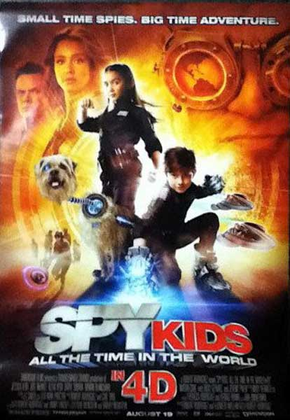 Spy Kids 4: All the Time in the World (2011) - Movie Poster