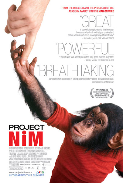 Project Nim (2011) - Movie Poster