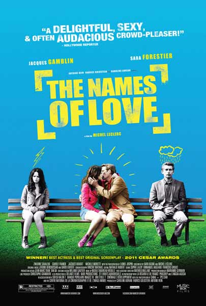 The Names of Love (2010) - Movie Poster