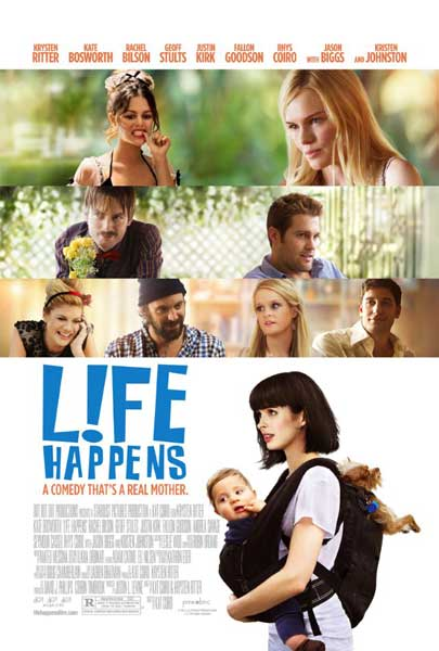 L!fe Happens (2011) - Movie Poster