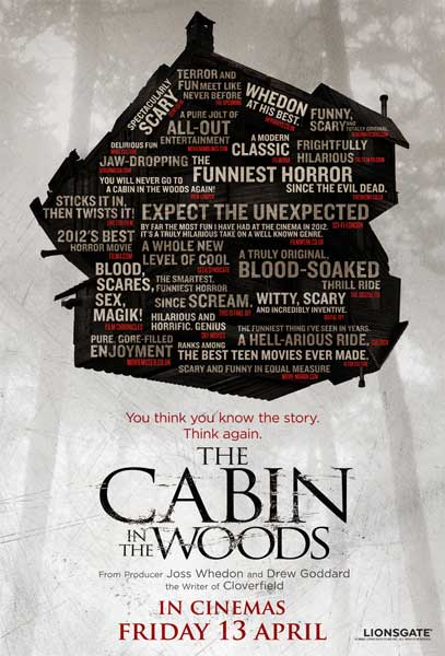 Cabin in the Woods, The (2011) - Movie Poster