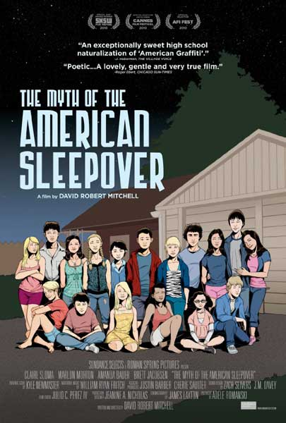 The Myth of the American Sleepover (2010) - Movie Poster