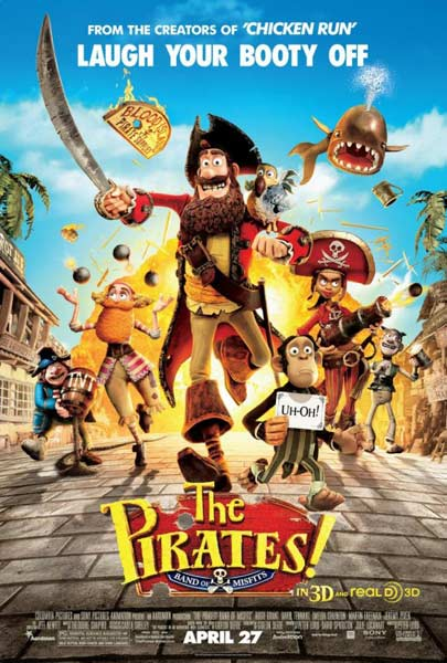 Pirates! Band of Misfits, The (2012) - Movie Poster