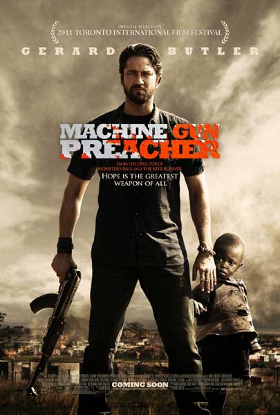 Machine Gun Preacher (2011) - Movie Poster
