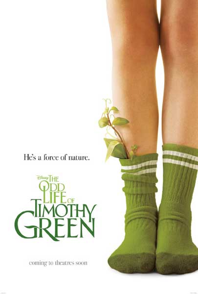 The Odd Life of Timothy Green (2011) - Movie Poster