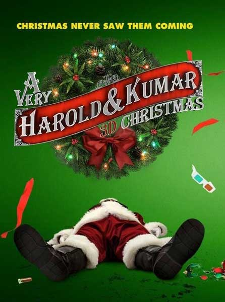 A Very Harold & Kumar Christmas (2011) - Movie Poster